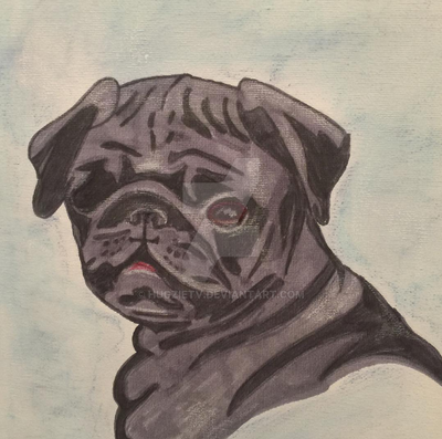 Alex the Pug by HugzieTV