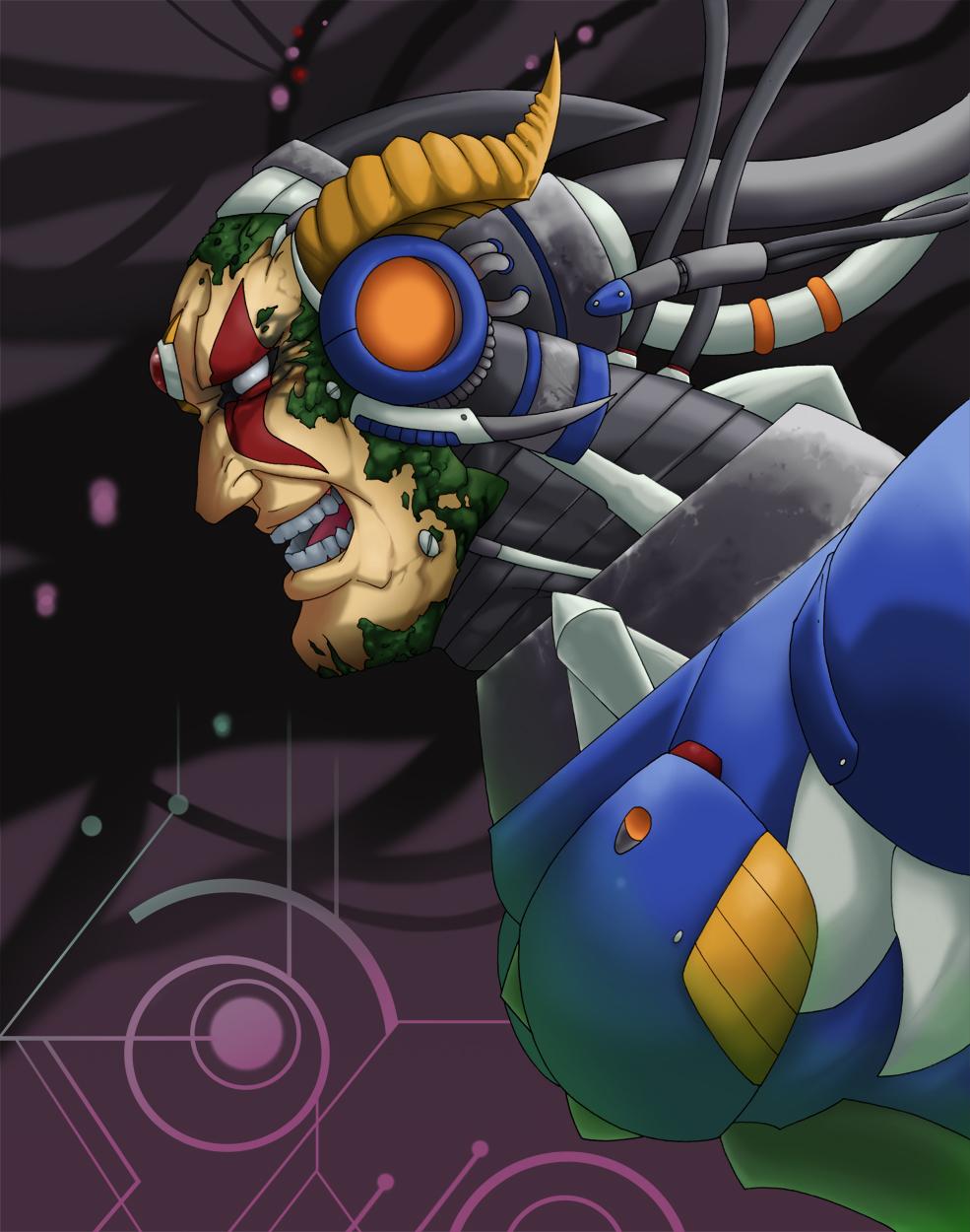 Group of Megaman X5 Sigma