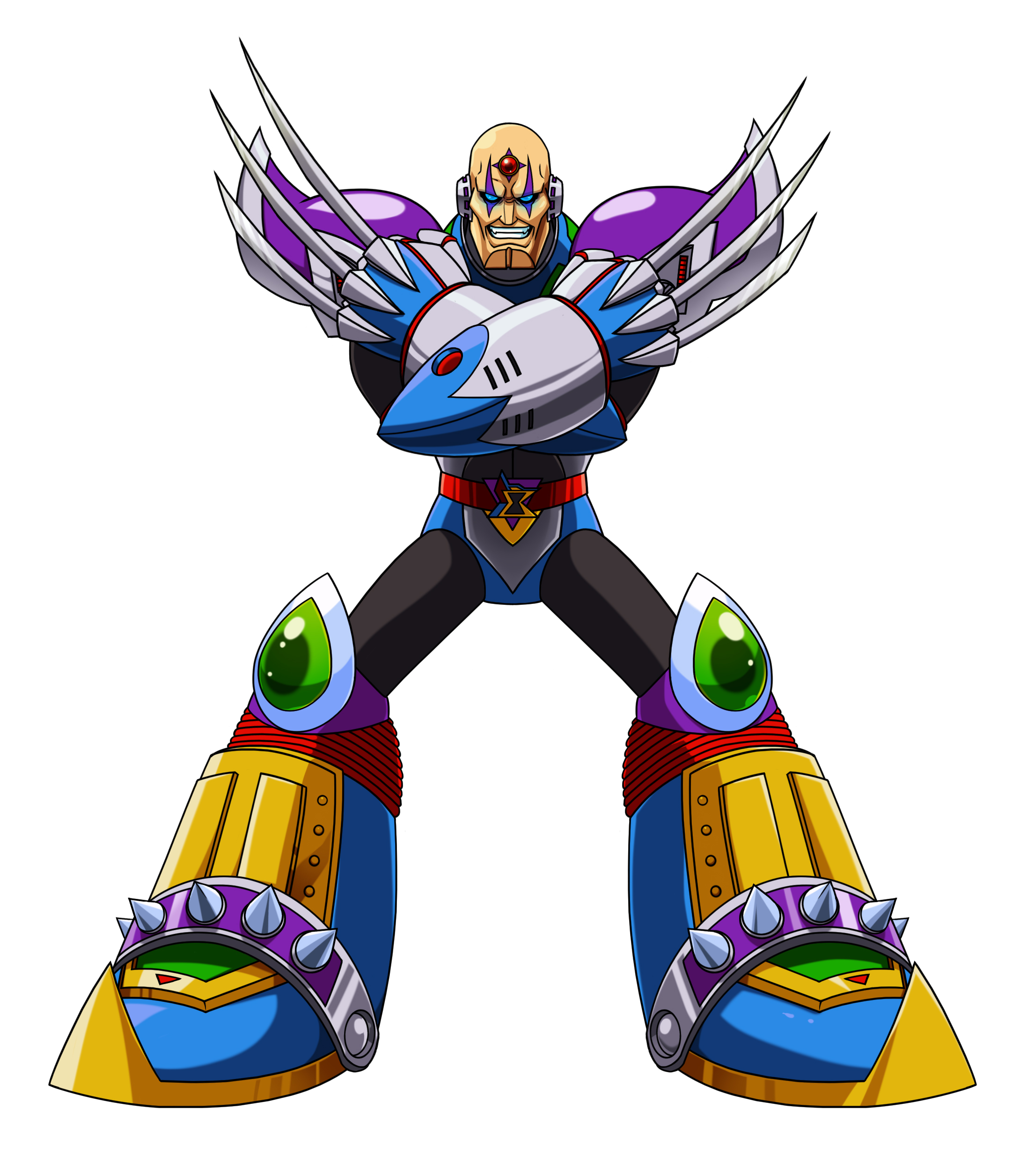 Megaman X2 Neo Sigma By Toastieman On Deviantart