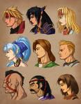 Legend of Dragoon Portraits