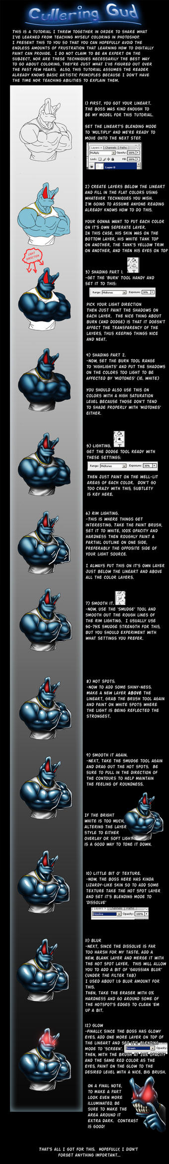 A 'Real' Coloring Tutorial by Marauder6272