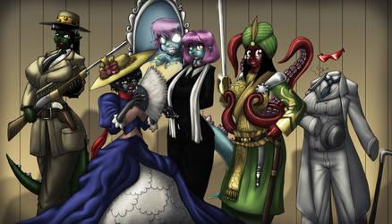 League of Extraordinary Kgirls by Marauder6272