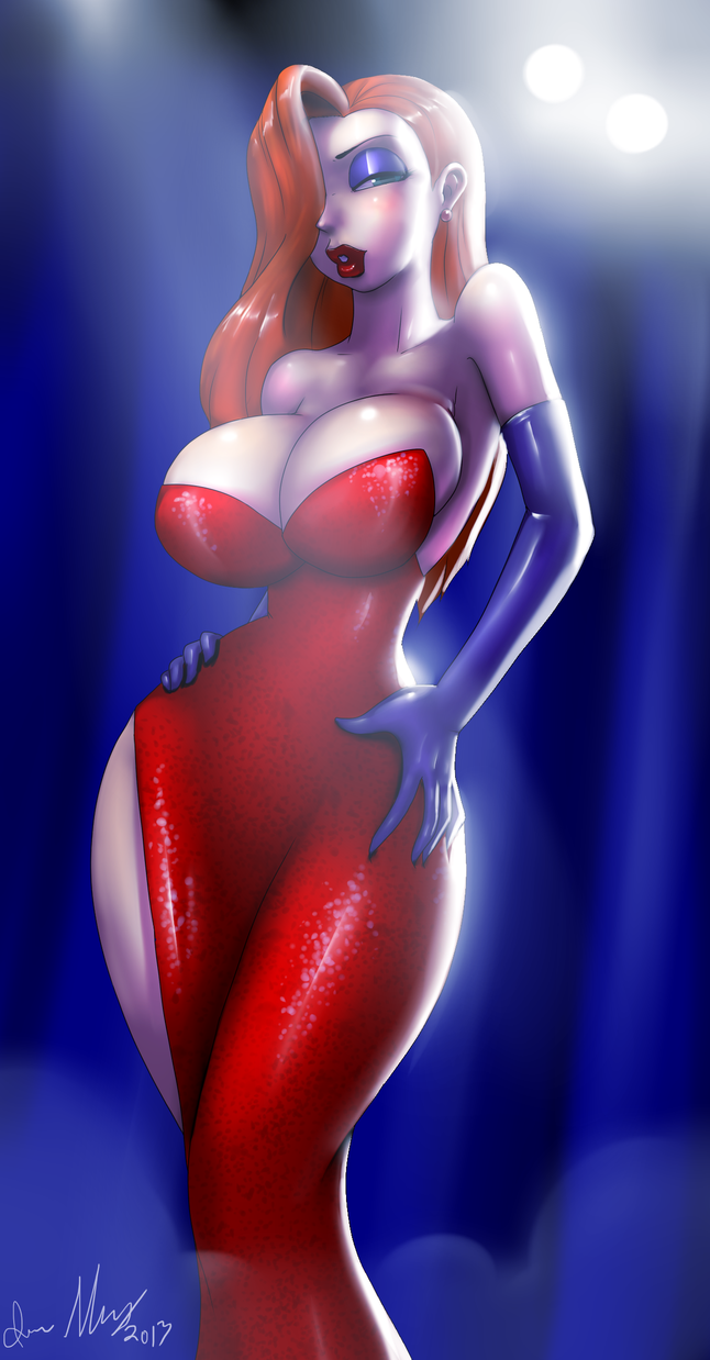 Jessica Rabbit by Marauder6272
