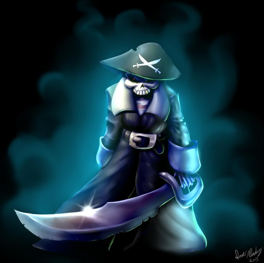 Dead Pirate Kap'n by Marauder6272