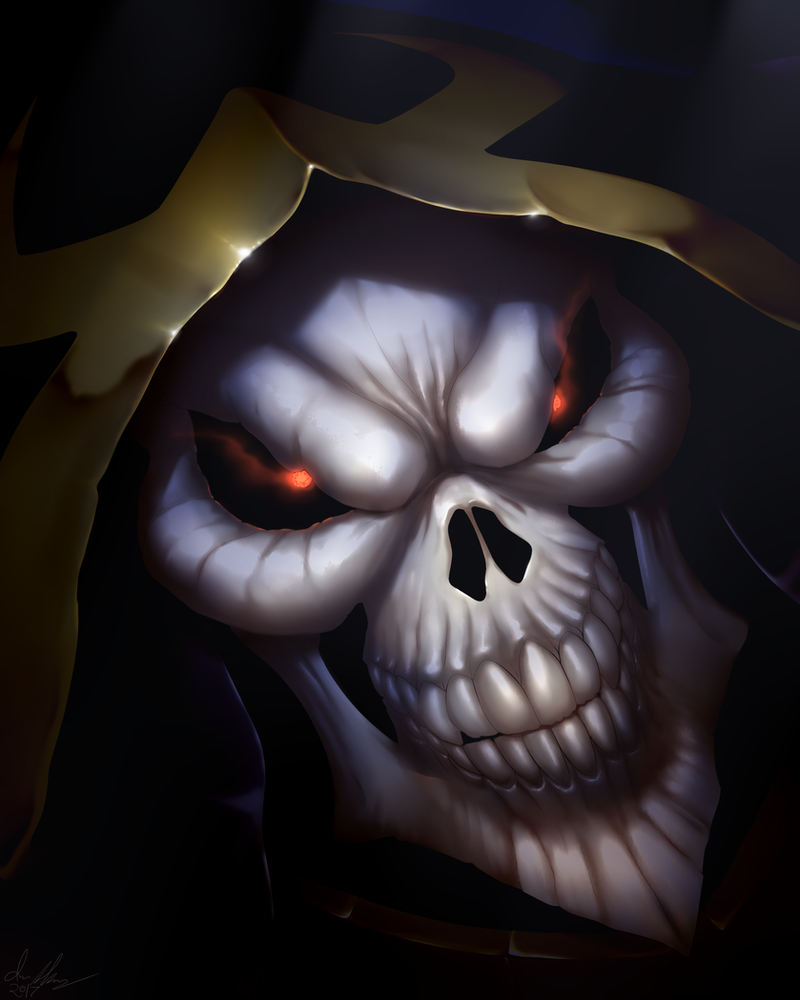 Ainz Ooal Gown by Marauder6272