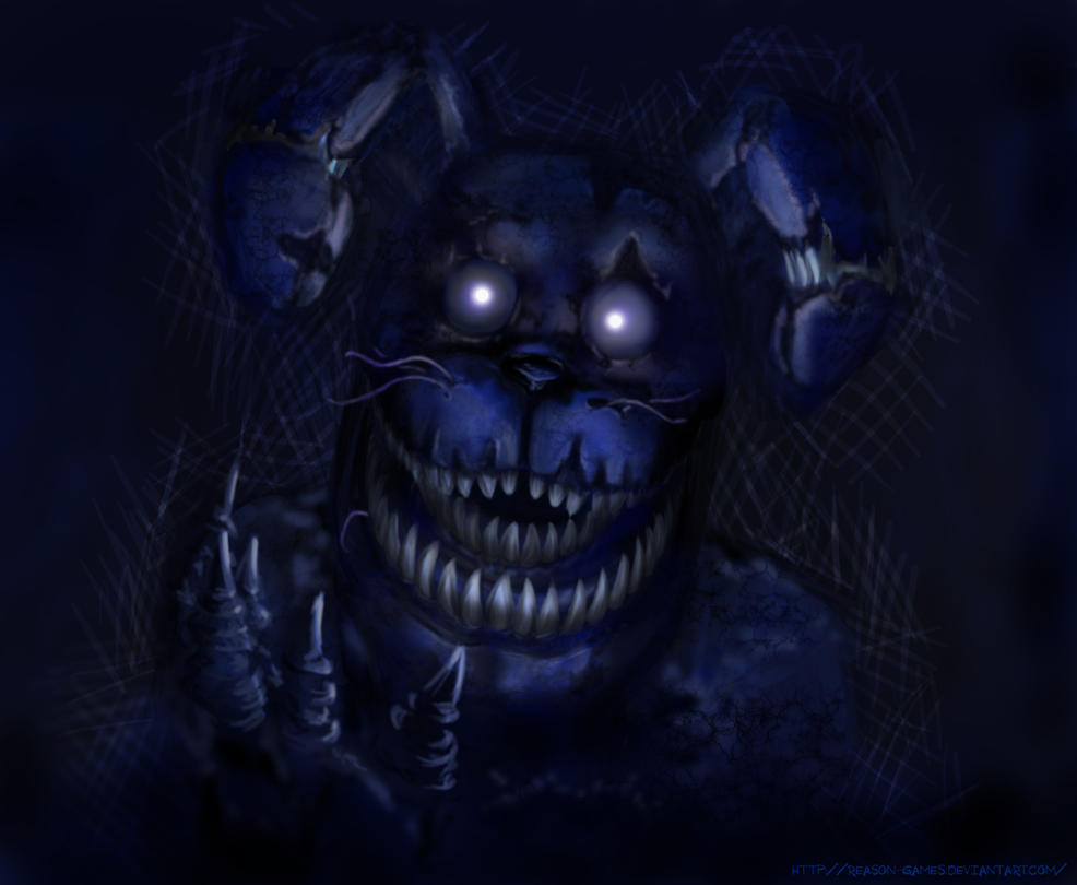 Bonnie five nights at freddy s 4 by reason games on deviantart
