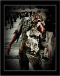 Happy Gas Mask Zombie by atiratha