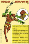 Red Hawk -bio