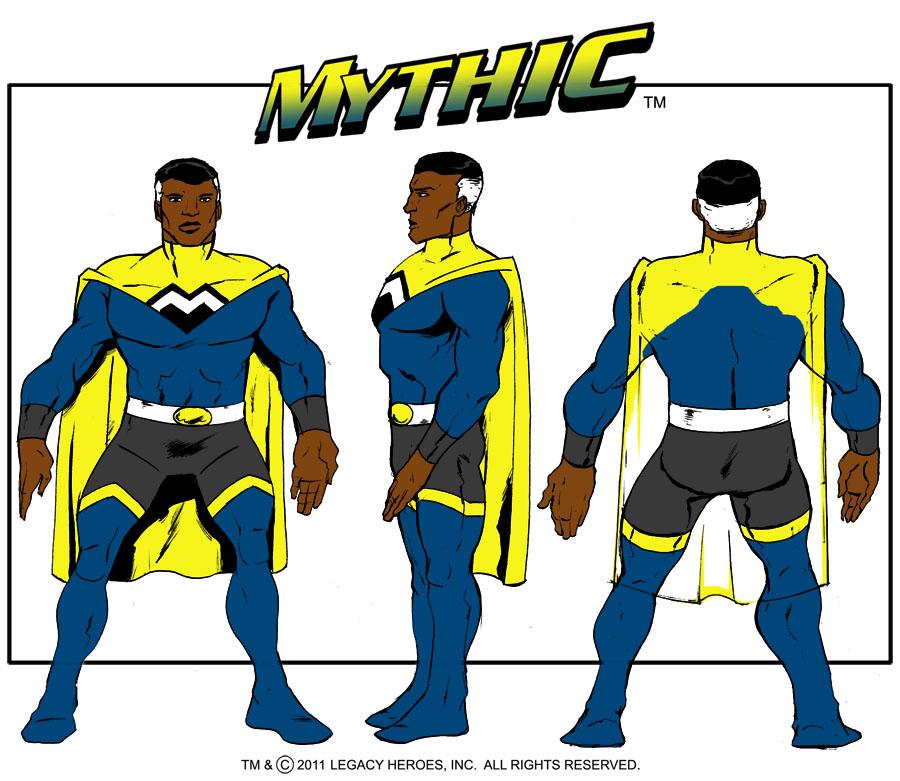 Mythic Turnaround by LegacyHeroComics