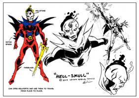 Hell-Skull -concept art by LegacyHeroComics