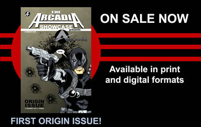 On Sale Now! Arcadia Showcase  #1 by LegacyHeroComics