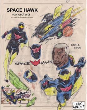 SPACE HAWK (concept art)