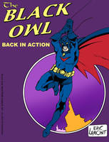 Black Owl -pin up by LegacyHeroComics
