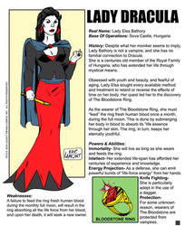 Lady Dracula -bio by LegacyHeroComics