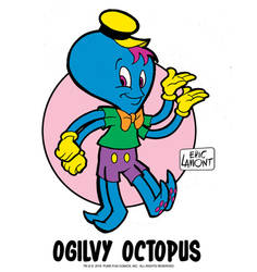 Ogilvy Octopus by LegacyHeroComics