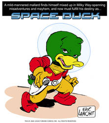 Space Duck -Pin Up