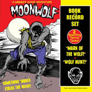 Moonwolf -Book and Record (Mock)