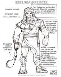 Gilgamesh -(Character Concept)