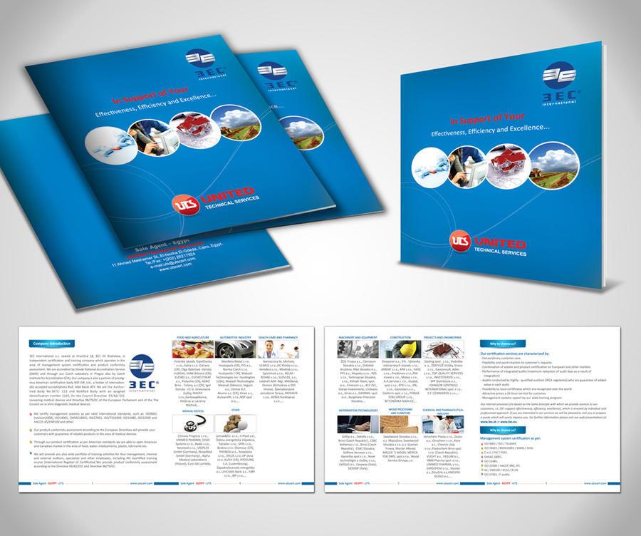 United Technical Services Brochure By Designworkseg On Deviantart