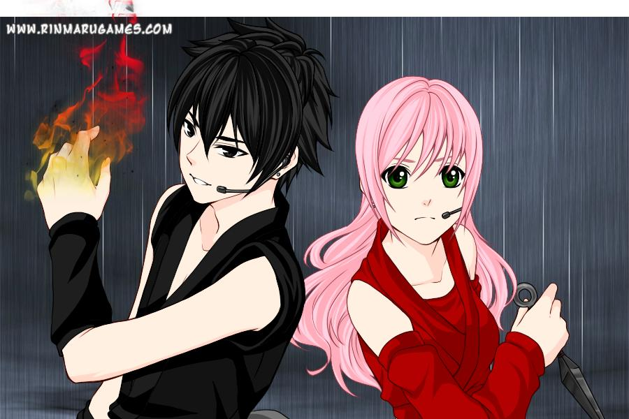 Sasuke and Sakura by JeanUchiha18