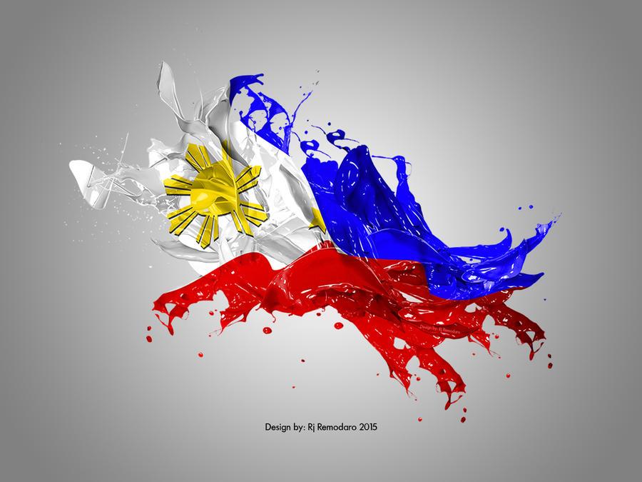 Philippine Flag By Rj Remodaro Zhiro6