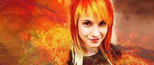 Hayley from Paramore