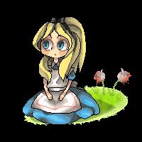 Alice pixel by Miupoke