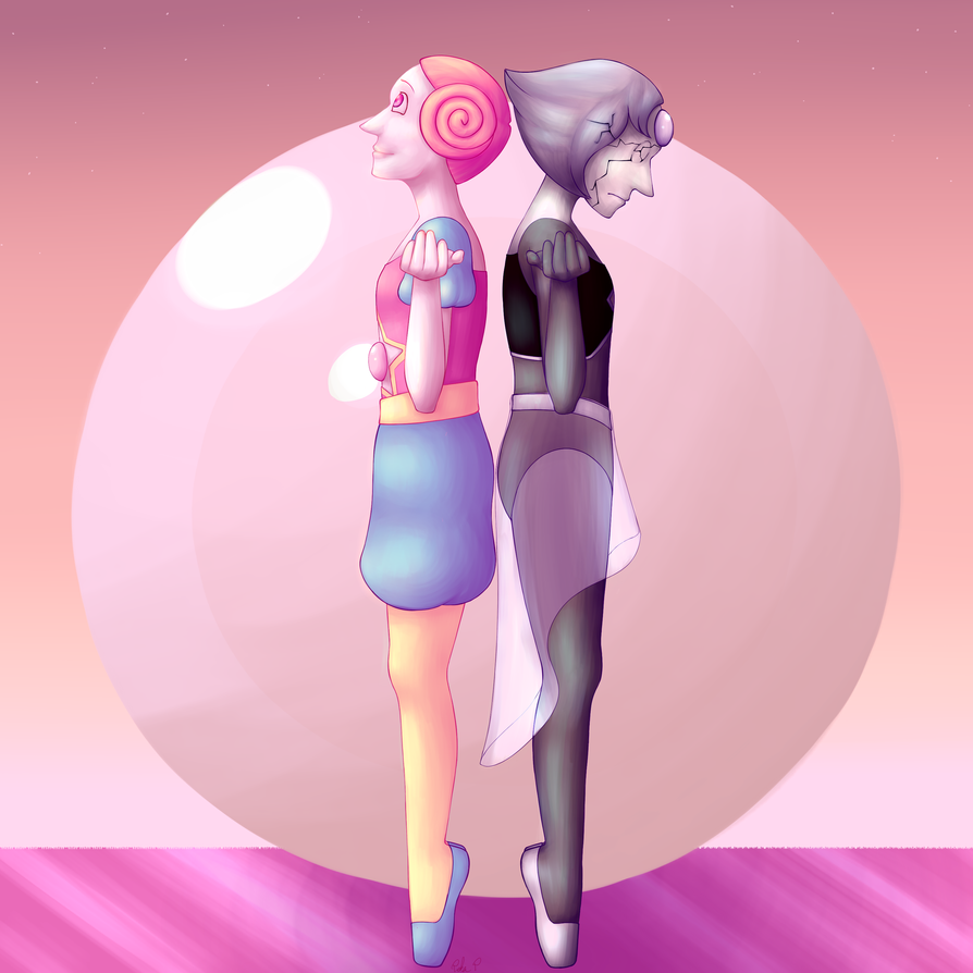 I've been thinking about the fan theories about White Pearl and our Pearl being swapped and thought about what would have happened if the pearls stayed with their supposed original owners.  De...