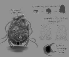 Spawn mind creature concept art