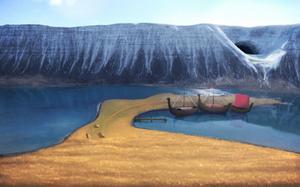 Fantasy Icelandic landscape for DnD