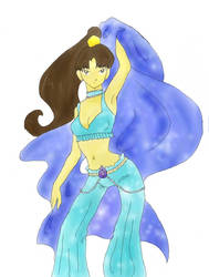 water dancer aziza by moondroplet