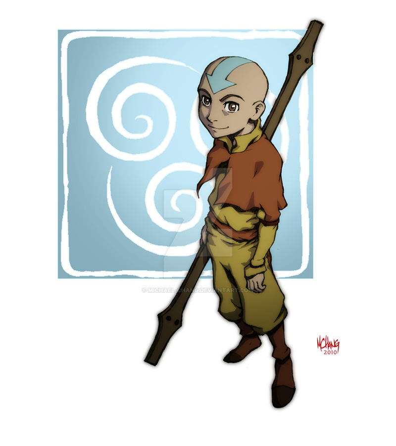 Avatar Aang By Michael-Chang On DeviantArt