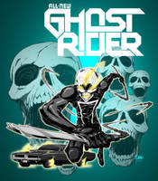Ghost Rider by Michael-Chang