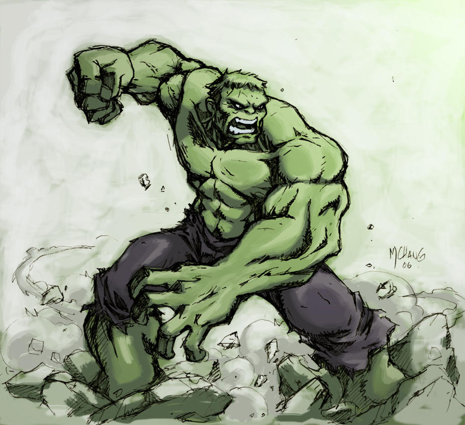 Hulk Smash by Michael-Chang on DeviantArt