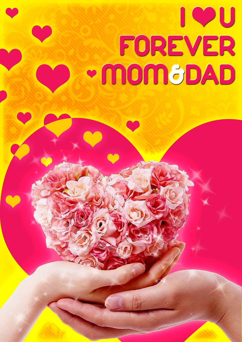 Wallpaper Love U Mom : I love U mom n dad by Ejunmi on DeviantArt