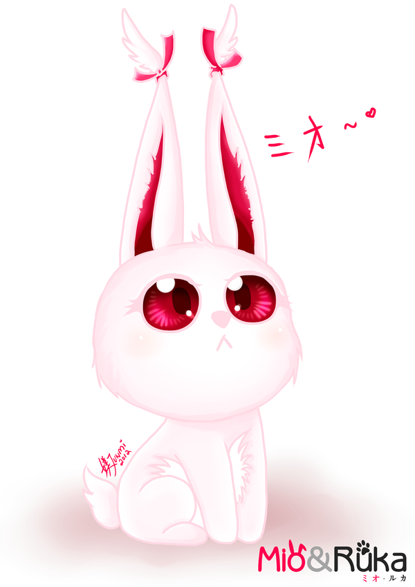 Mio the Rabbit by Ejunmi