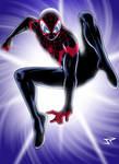 Ultimate Spiderman Miles Morales Art