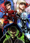 The Amazing Spiderman 2 illustration by JonathanPiccini-JP