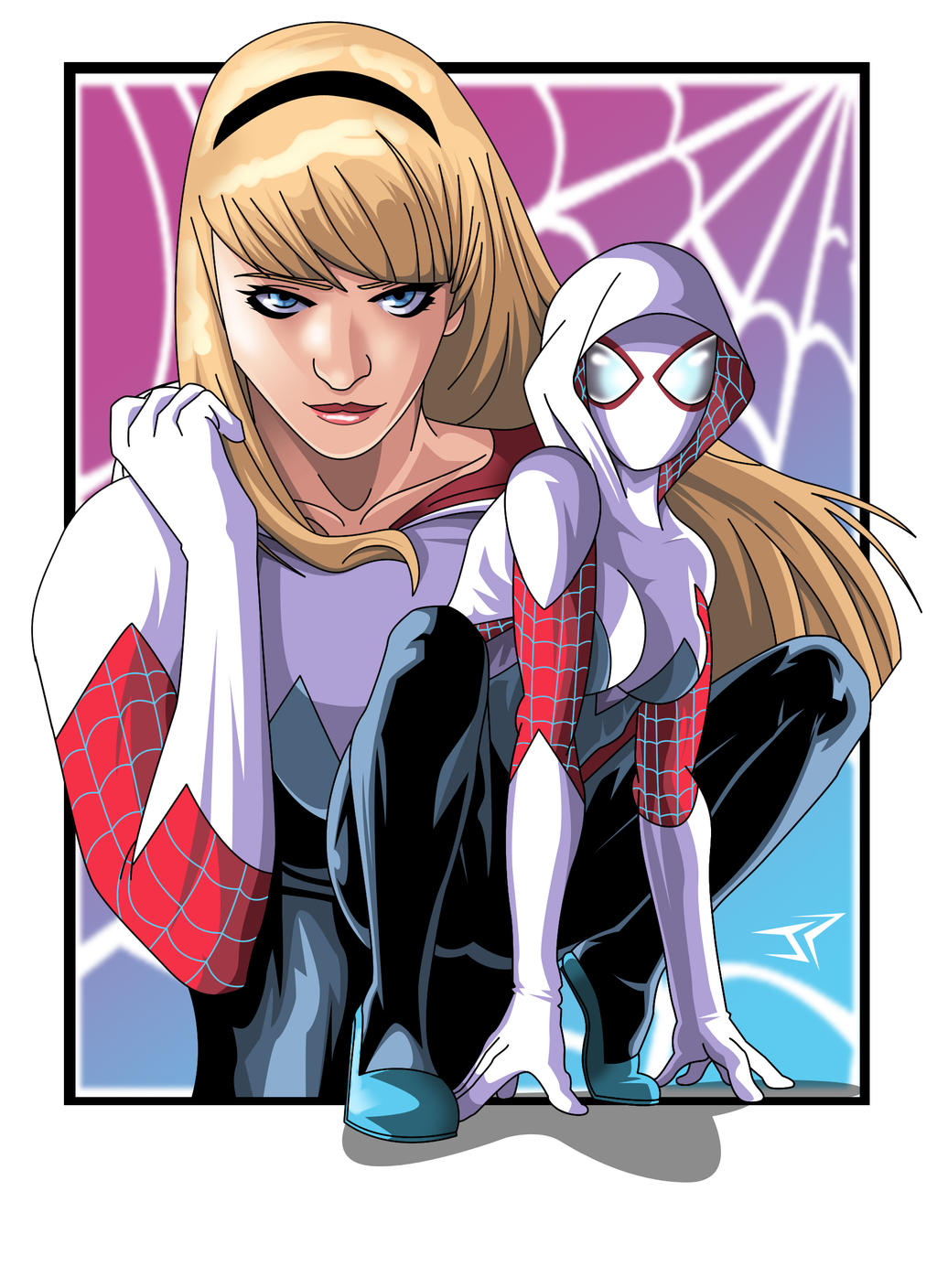Gwen stacy costume