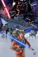 Star Wars Illustration to Colors by JonathanPiccini-JP