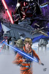Star Wars Illustration to Colors