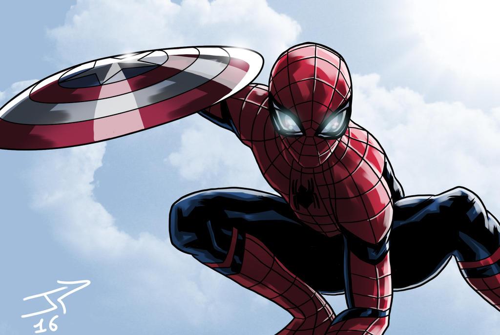 Spiderman Trailer Civil War by JonathanPiccini-JP