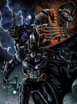 Batman Arkham Knight poster to colors