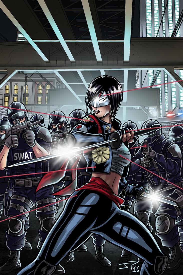 Suicide Squad Katana Illustration by JonathanPiccini-JP