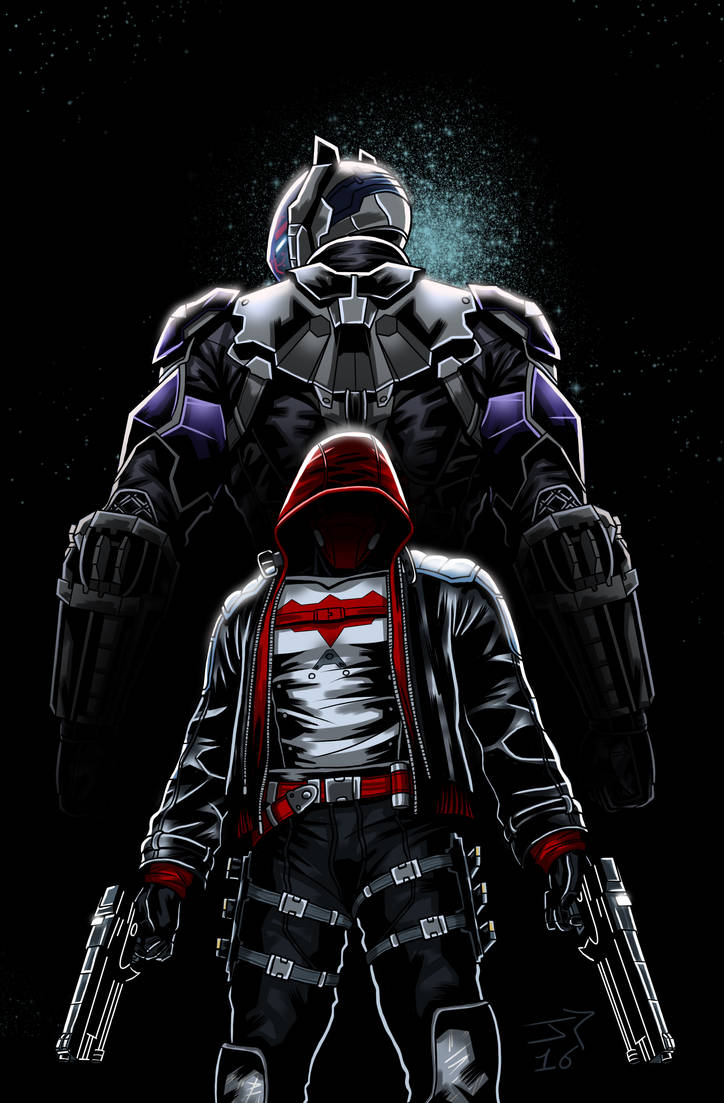 RED HOOD Arkham Knight Cover Portfolio