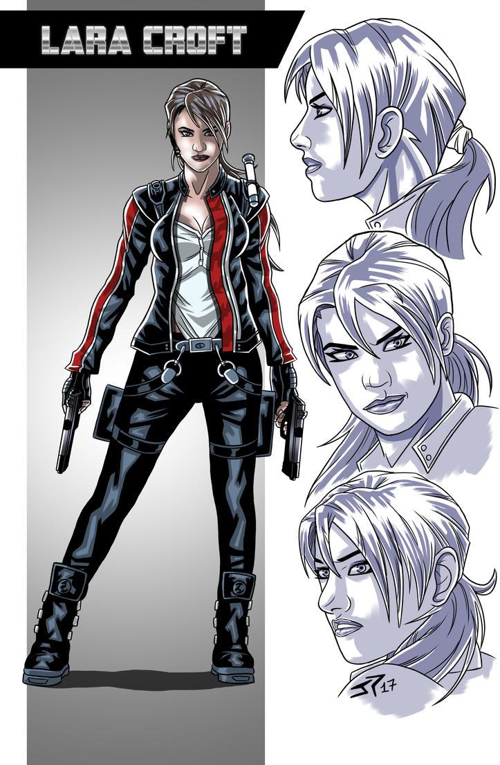 Lara Croft Character studio by JonathanPiccini-JP