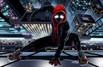 Animated Spiderman Miles Morales