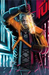 Cyberpunk2077 Geralt of Rivia