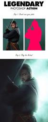 Legendary Photoshop Action by jackharvatt