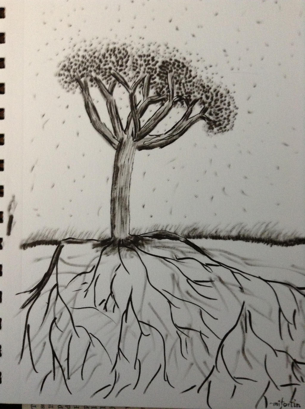 45 minute tree #2 by mifortin